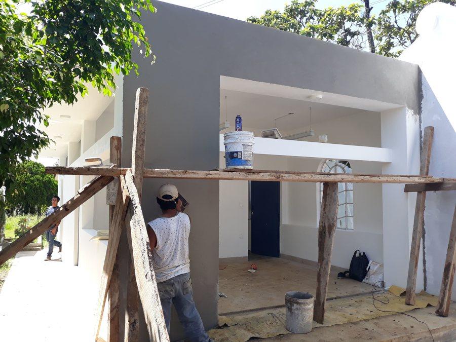 Retoques de fachada