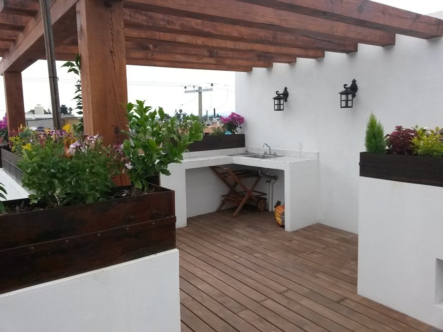 Roof garden ideas arquitectos for Decoracion azoteas fotos