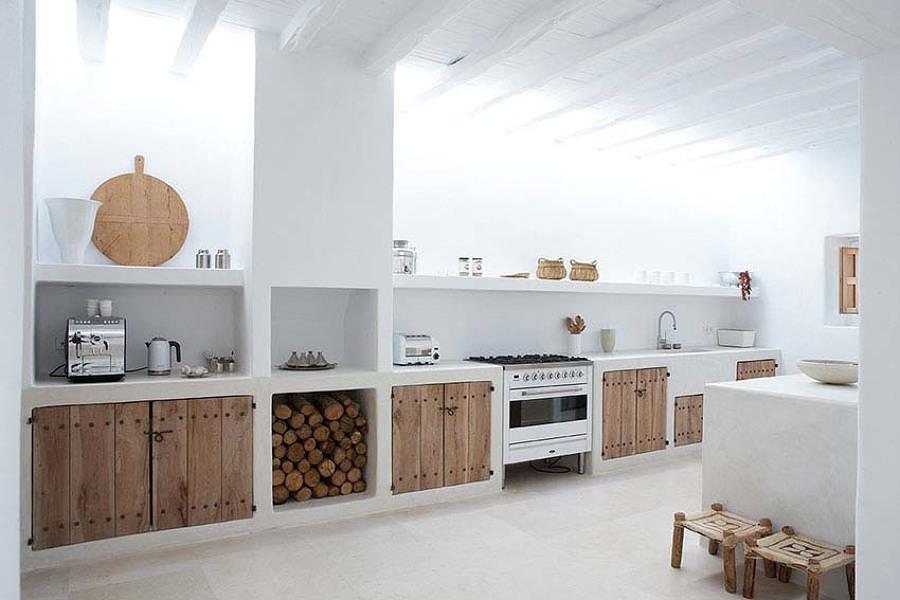 Cocinas Rusticas Blancas - Cocinas Blancas Rusticas - Mimasku.com