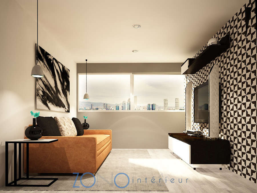 Dise o en blanco y negro ideas dise o de interiores for Disenos de interiores en blanco y negro