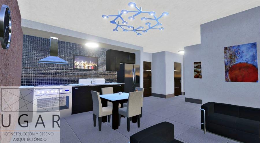Foto sala comedor cocina de ugar construcci n y for Diseno sala comedor cocina