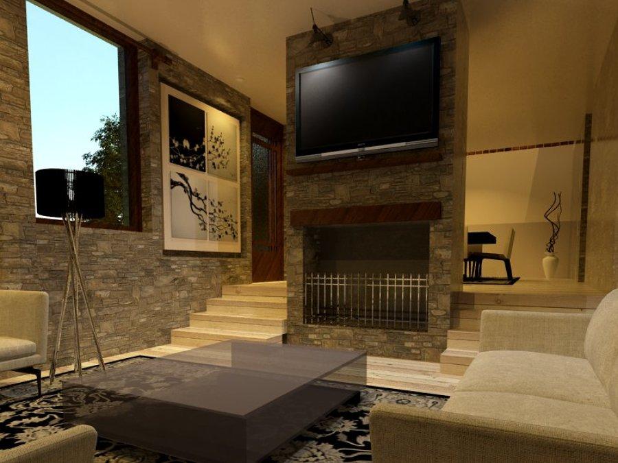 Comedores rusticos con chimenea latest decoracin de salas for Comedor con chimenea