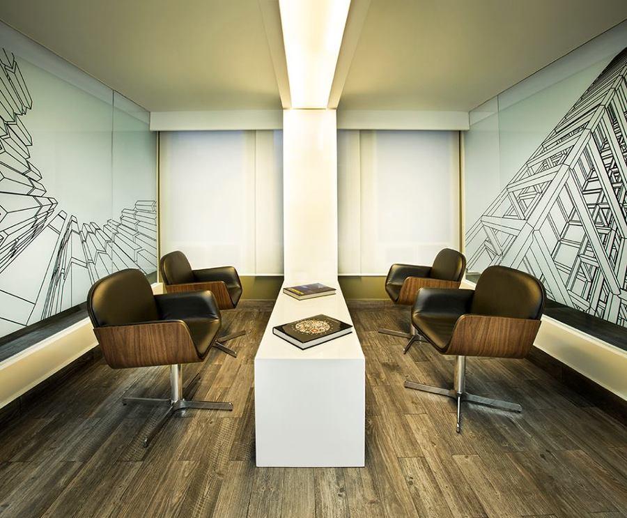 Sala de oficinas informal
