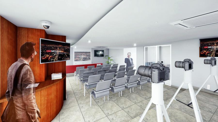Remodelaci n sala de prensa ideas dise o de interiores for Sala de pranza