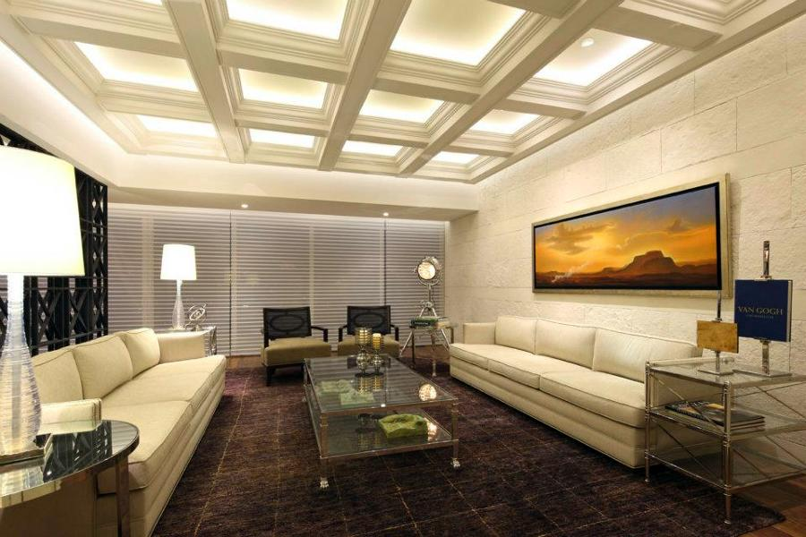 Plafones de iluminacion apliques para baos modelo for Licenciatura en decoracion de interiores