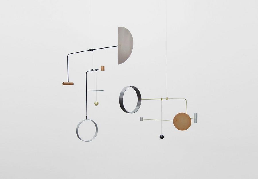 Sala con escultura