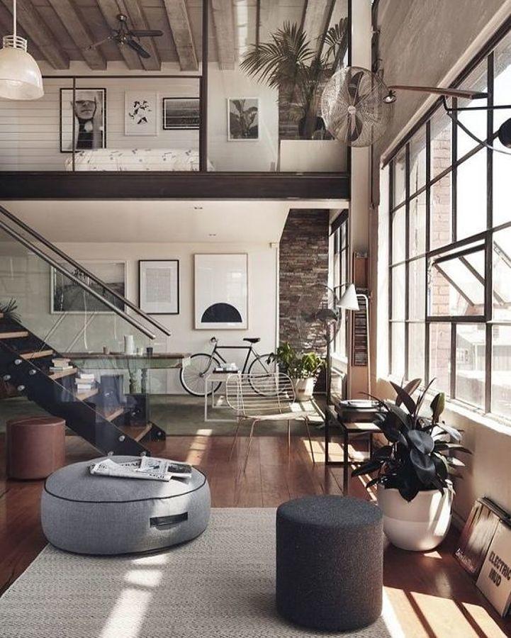 Sala con ventiladores