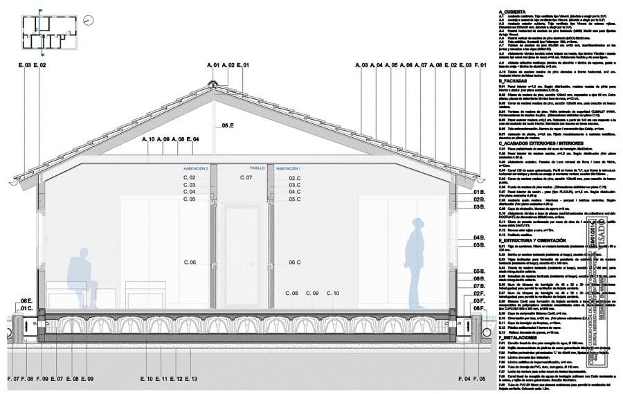 Foto secci n constructiva de fem arquitectura 284499 - Fem arquitectura ...