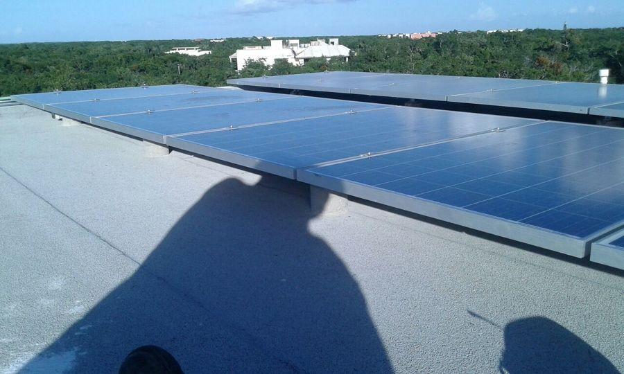 Sistema Fotovoltaico en Tulum