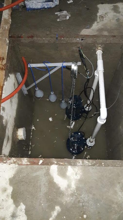 sistema hidráulico para agua pluvial