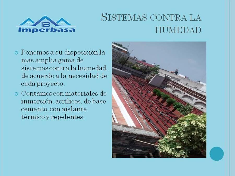 Presentaci n imperbasa ideas impermeabilizaci n - Contra la humedad ...
