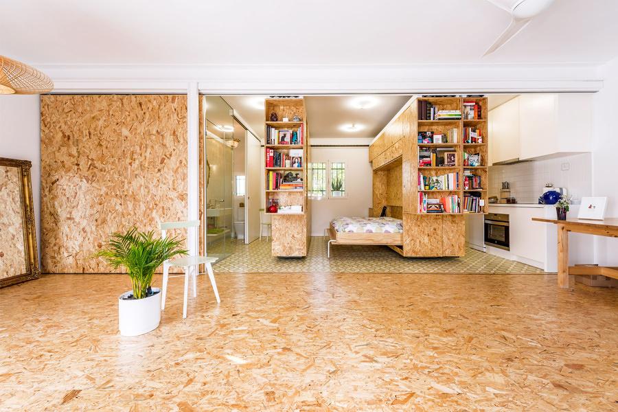 Módulos con paneles de madera OSB