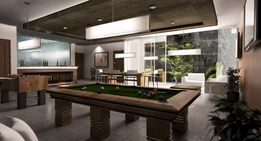 Los olivos ideas construcci n casa for Sala de adultos de moda