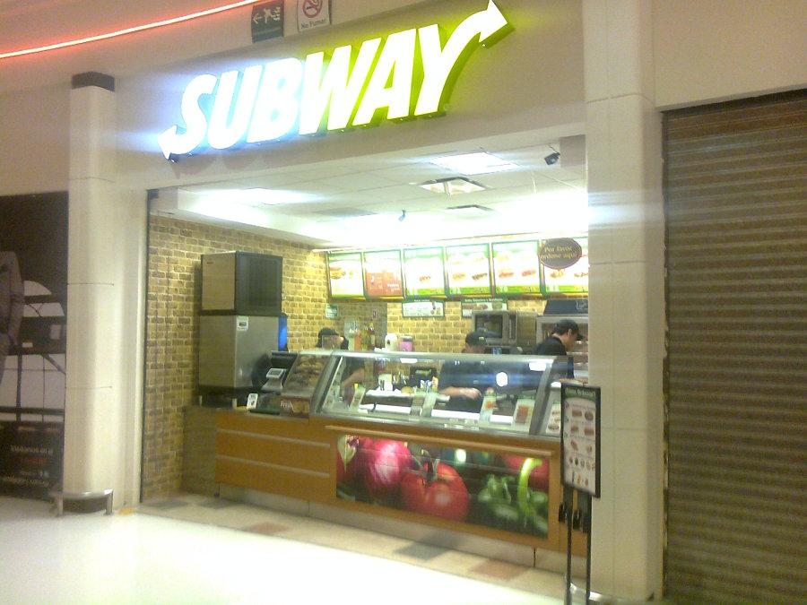 Subway Suc. Valle de Chalco. Edo Méx.