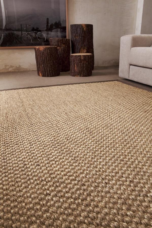 Foto piso con alfombra de fibra natural 283467 habitissimo Alfombras persas en mexico