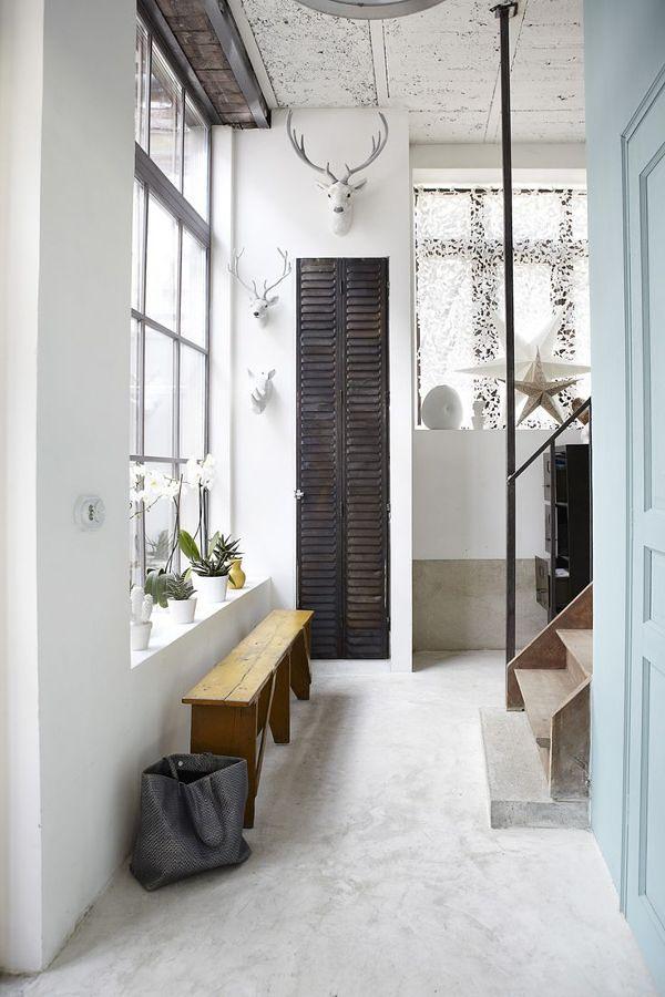 El cemento en la decoraci n del hogar ideas dise o de for Suelos de cemento para interiores