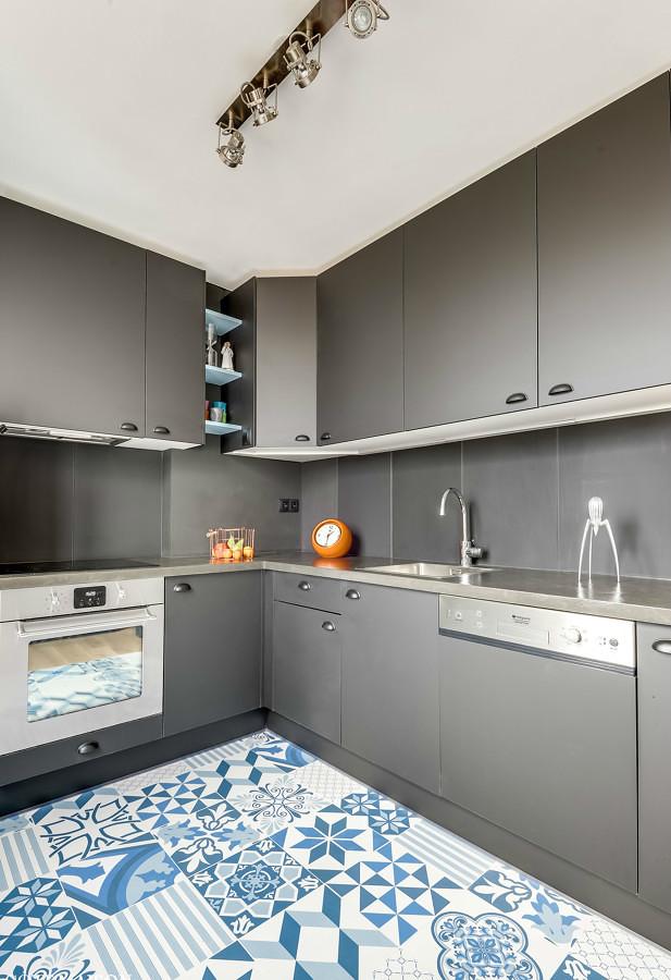 Foto suelo hidraulico en cocina 187801 habitissimo - Suelo de cocina ...
