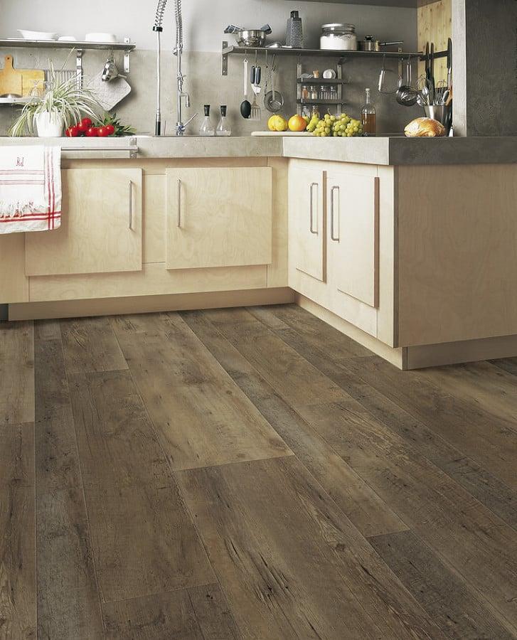 Foto cocina con piso vin lico de madera 272980 habitissimo - Suelo vinilico para cocina ...