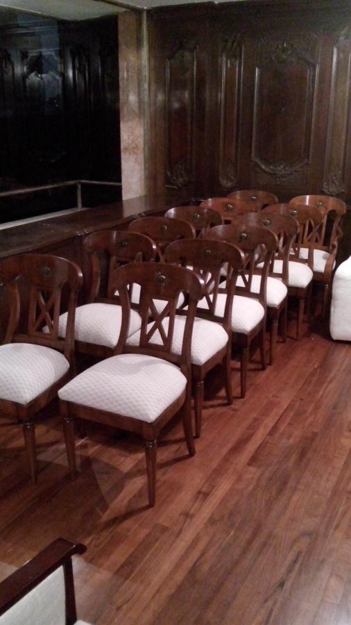 Tapizado de sillas Lic. Cortez