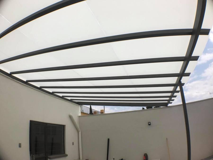 techado de cristal esmerilado