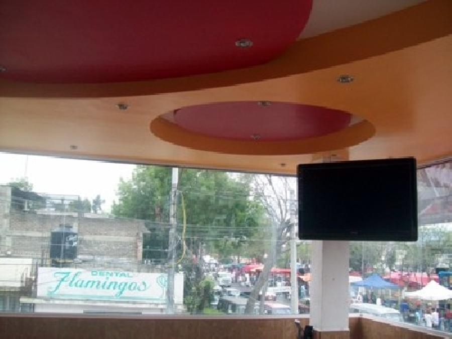 Foto terminacion del trabajo de plafon curvo de valevs for Plafones de pared modernos