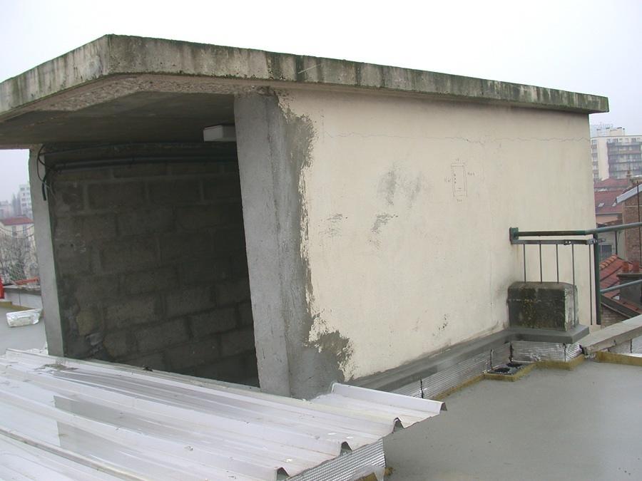 Terraza antes de ser remodelada