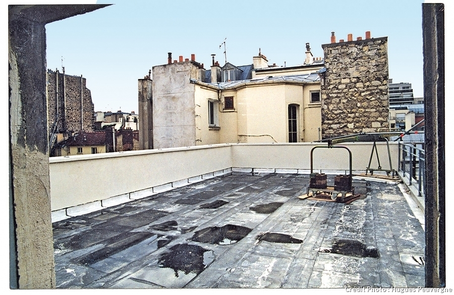 Terraza antes de remodelación