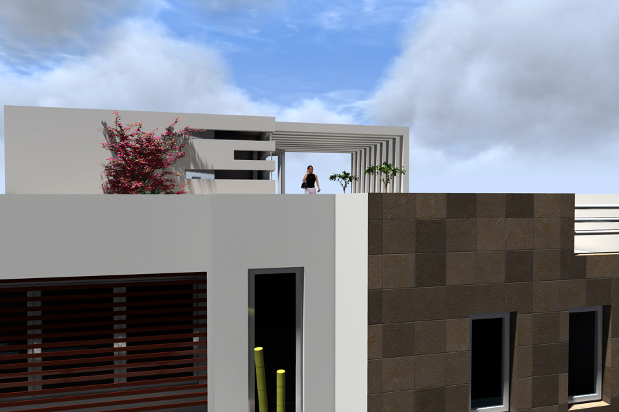Foto terraza casa habitaci n de adda arquitectura y - Terrazas de diseno fotos ...