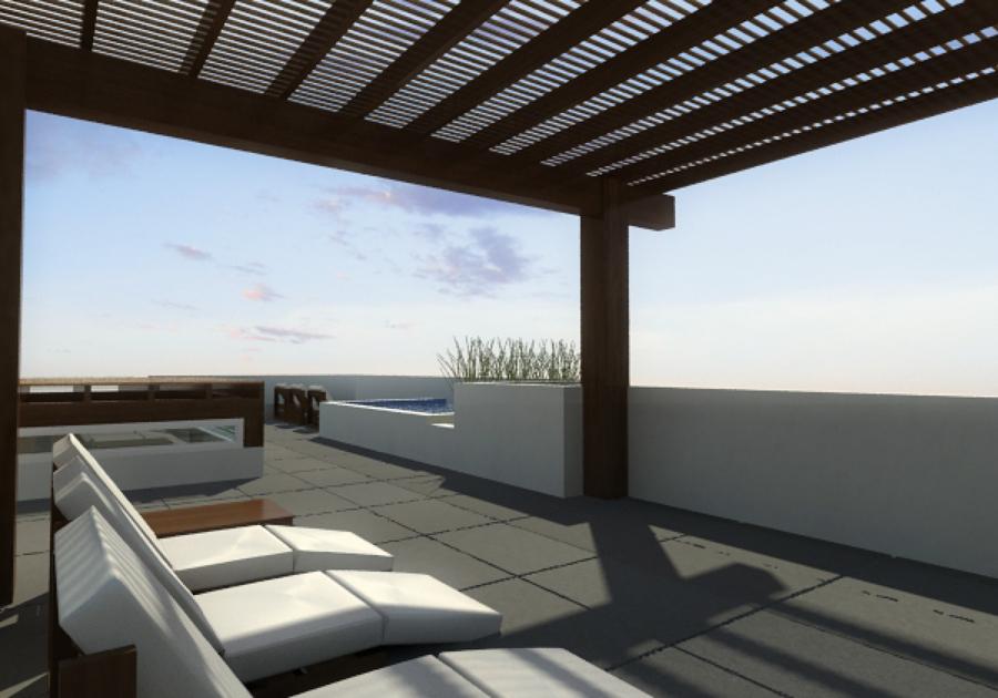 Foto terraza en azotea de fractal corp arquitectura - Terrazas en azoteas ...