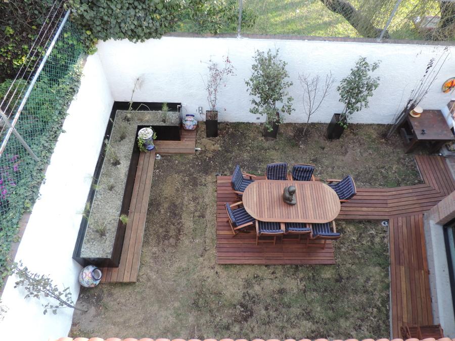 Terraza jardín, Metepec.