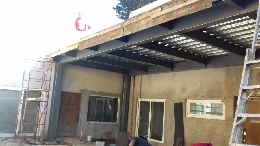 Construcci n de terraza ideas construcci n casa for Construccion de casas en terrazas