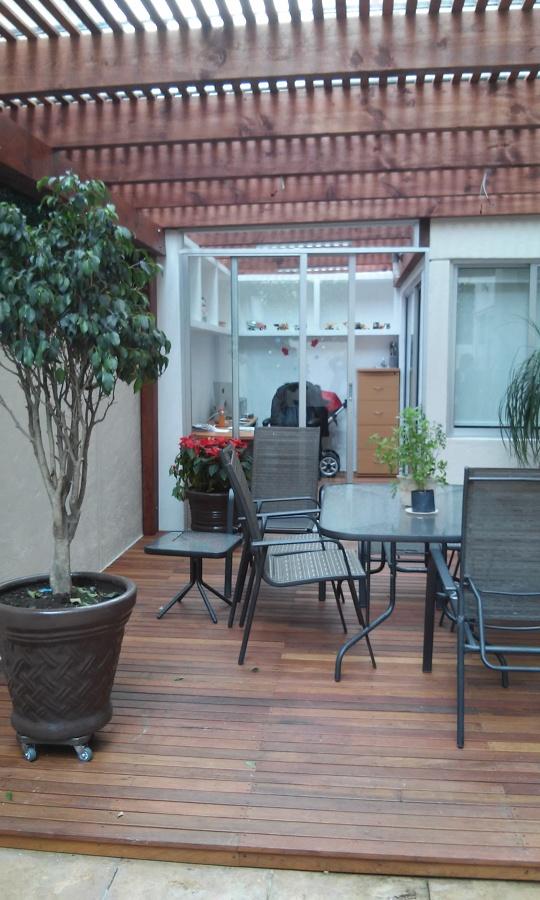 Terraza y oficina