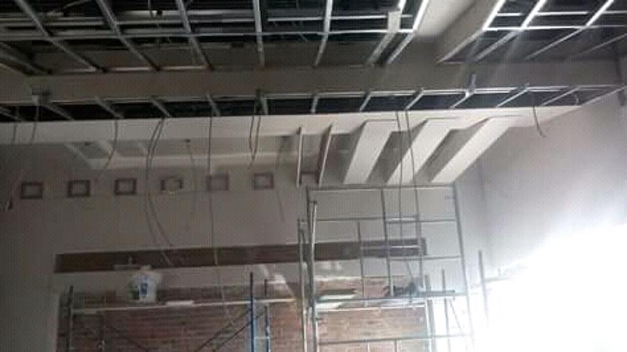 trabajos de tablaroca y acabados