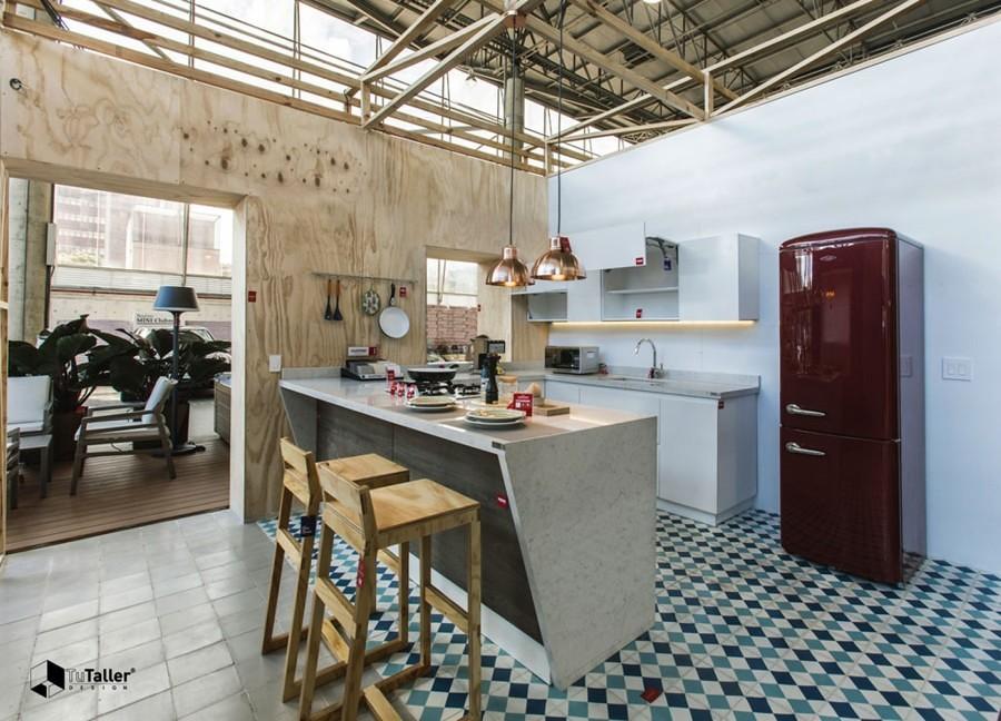 """""""Casa abierta"""" de Tu Taller Design"""