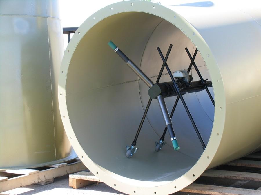 Foto tuber a interior y exterior de polydellsi industries for Exterior y interior