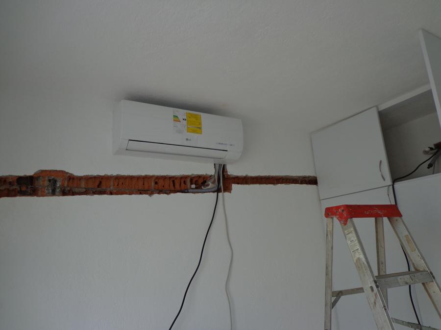 Instalaciones de mini split de 2 tr ideas aire acondicionado - Tuberia para instalacion electrica ...