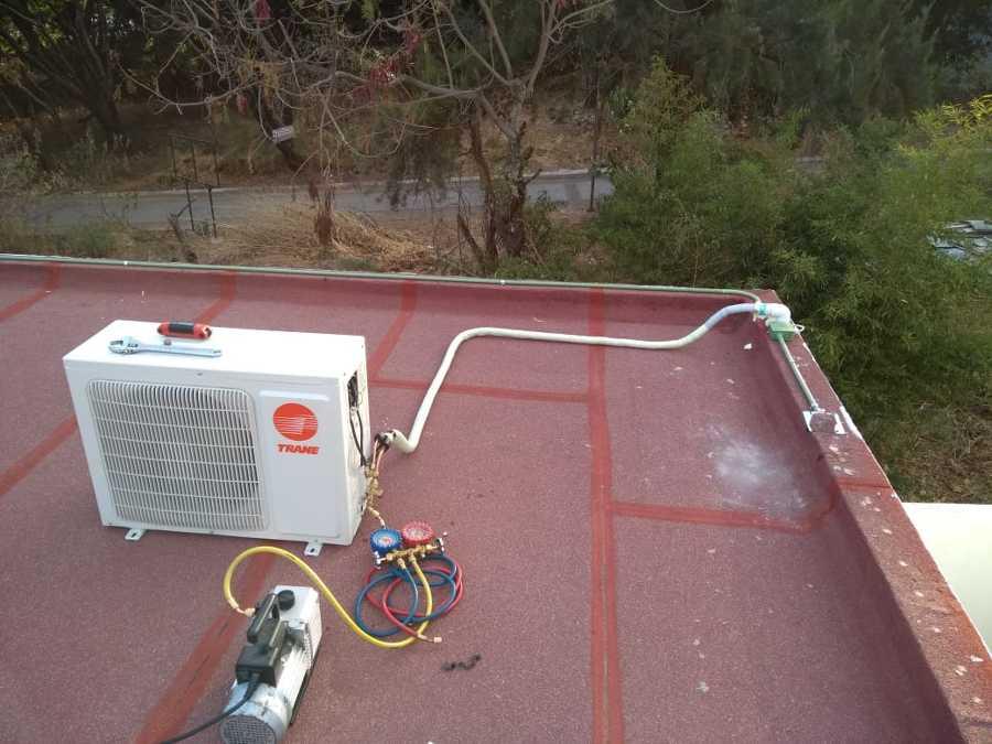 Venta suministro e instalación de equipo de aire acondicionado