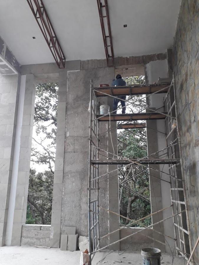 VESTIBULO CONSTRUCCION