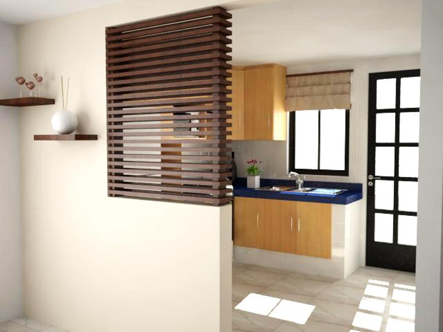 Foto vista de celos a y cocina de casa 123 161919 for Celosias para interiores