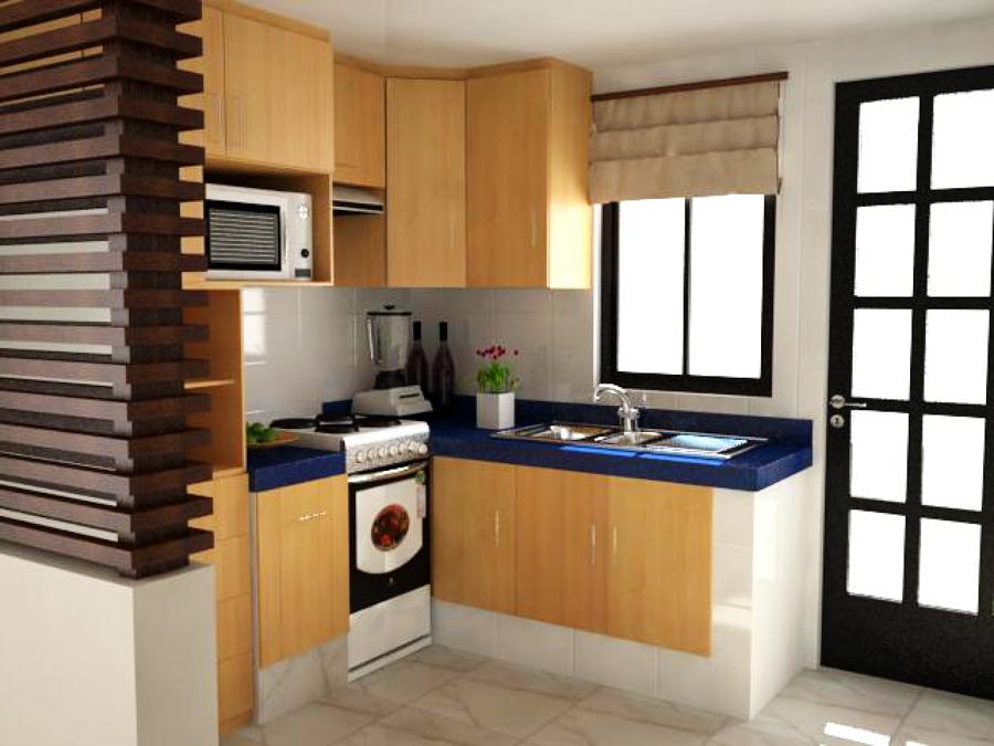 Remodelacion y propuesta de muebles de cocina para casa for Celosias para interiores