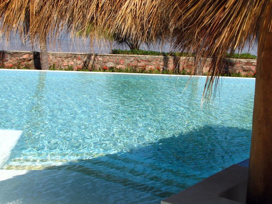 Vista Desde El Bar Alberca Molino De Agua