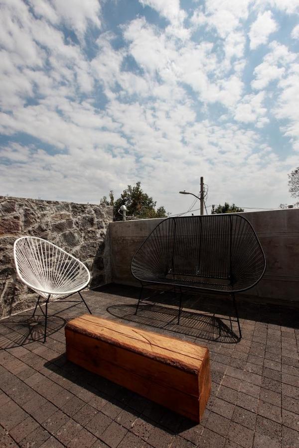 Vista exterior de terraza