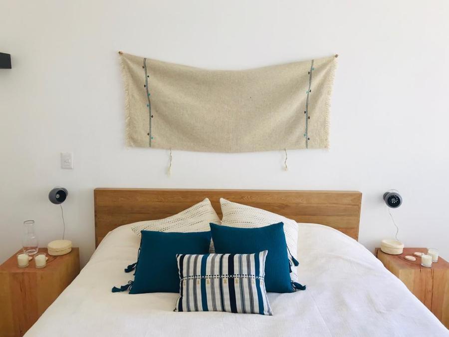 Vista frontal cama