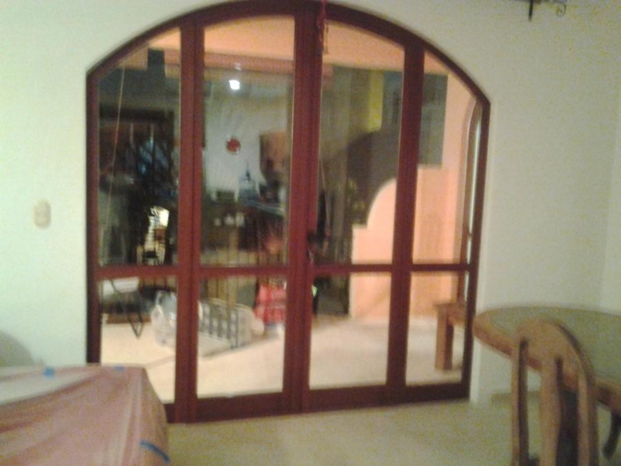 vista interior nueva puerta