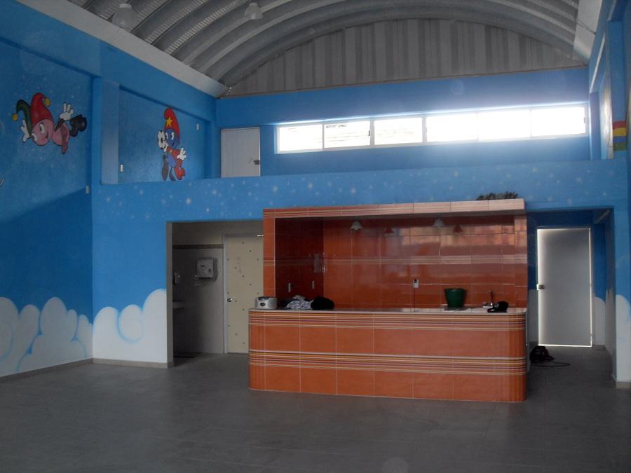 Vista Interior de Salón para Fiestas Infantiles