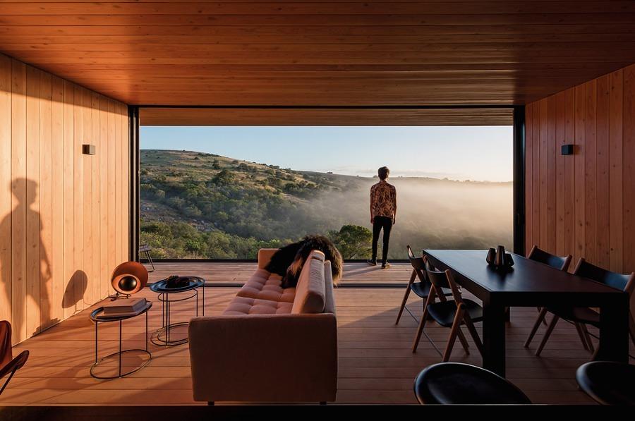 Casa prefabricada con vista a la naturaleza