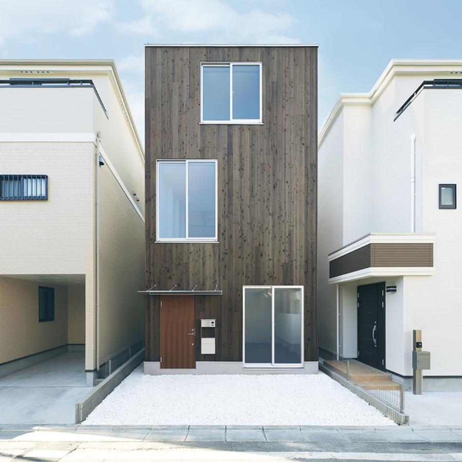Casa prefabricada en altura