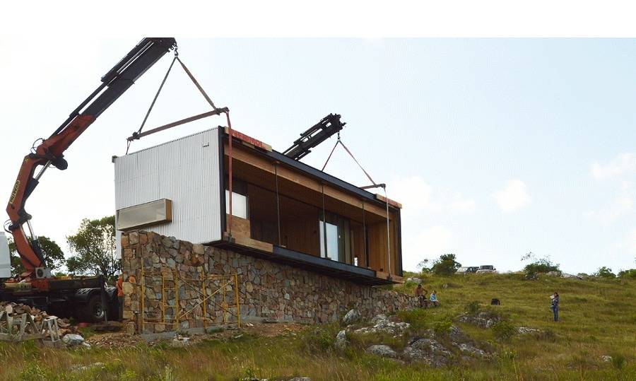 Montaje casa prefabricada