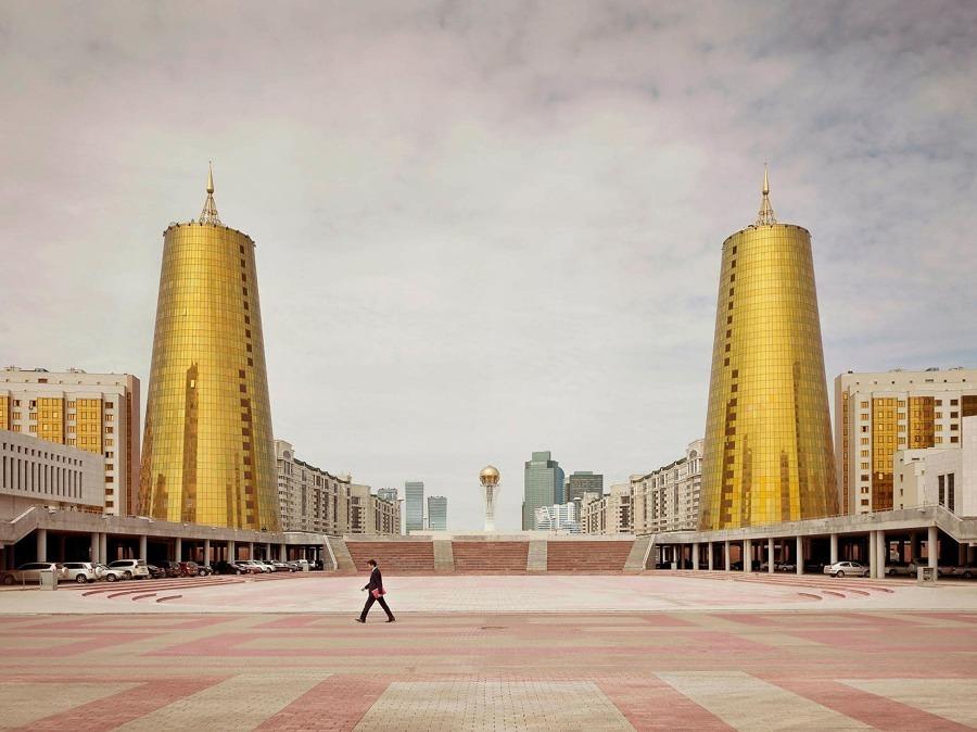 Astana, Kazajistán. Edificios ministeriales