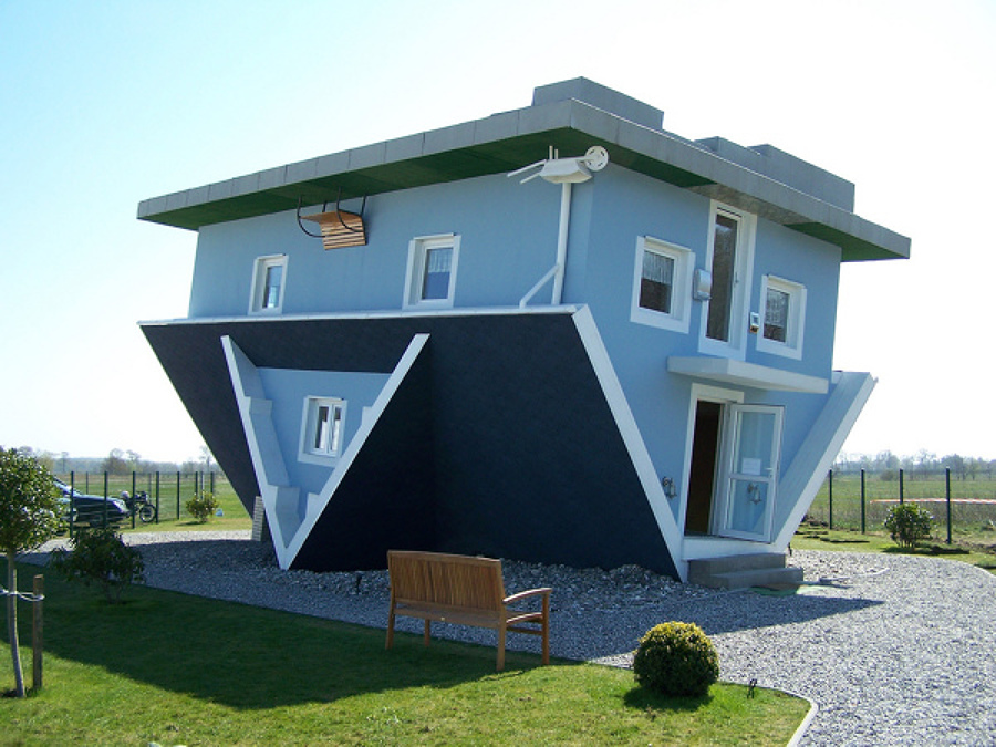casa invertida